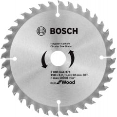 Пильний диск Bosch Optiline Wood ECO (50x2.2x20-36T) (2608644371)