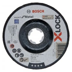 Круг зачистной Bosch X-LOCK Expert for Metal (125х6 мм, металл) (2608619264)