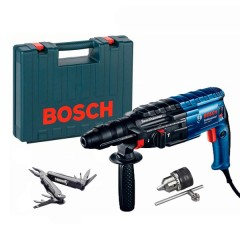Перфоратор Bosch GBH 240 F Professional + Swiss Peak Multitool (790 Вт, 2.7 Дж) (0615990L0D)