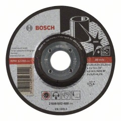Круг зачистной Bosch Expert for Inox 125x6х22 мм (2608602488)