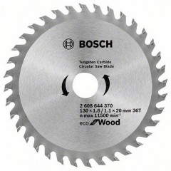 Пильний диск Bosch Wood Eco 130x20/16-36T (2608644370)
