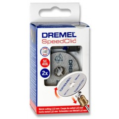 Комплект Dremel SpeedClic Starter Set 38 мм (2615S406JC)