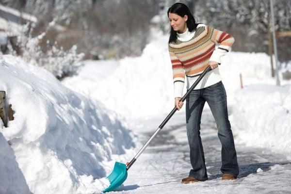 купити лопату для прибирання снігу