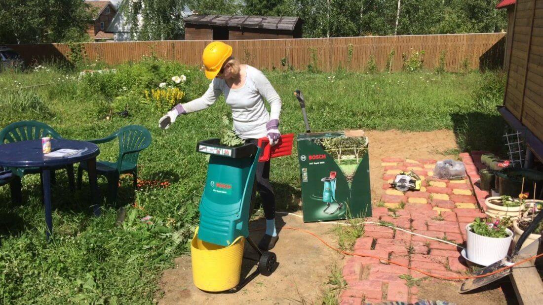 измельчитель садовый купить